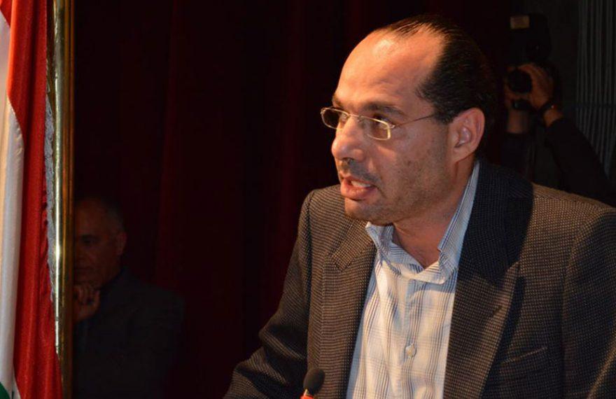 O ministro de Comércio Exterior do Líbano, Hassan Mourad