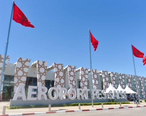 Aeroporto de Fès, uma das cidades do Marrocos que vai receber mais voos