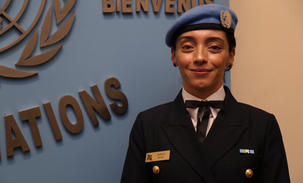 Marcia Andrade Braga atua em missão de paz da ONU