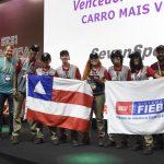 Equipe da Bahia ganhou a etapa nacional do prêmio F1 nas Escolas