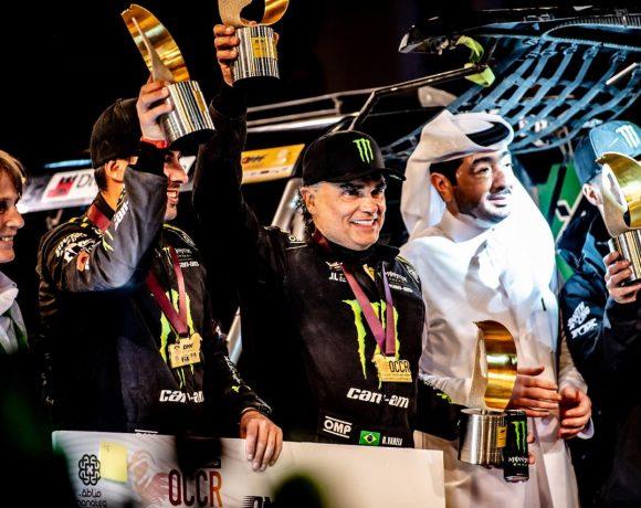 Reinaldo Varela e Gustavo Gugelmin saíram vitoriosos após 5 dias de prova no Catar, no último mês de fevereiro