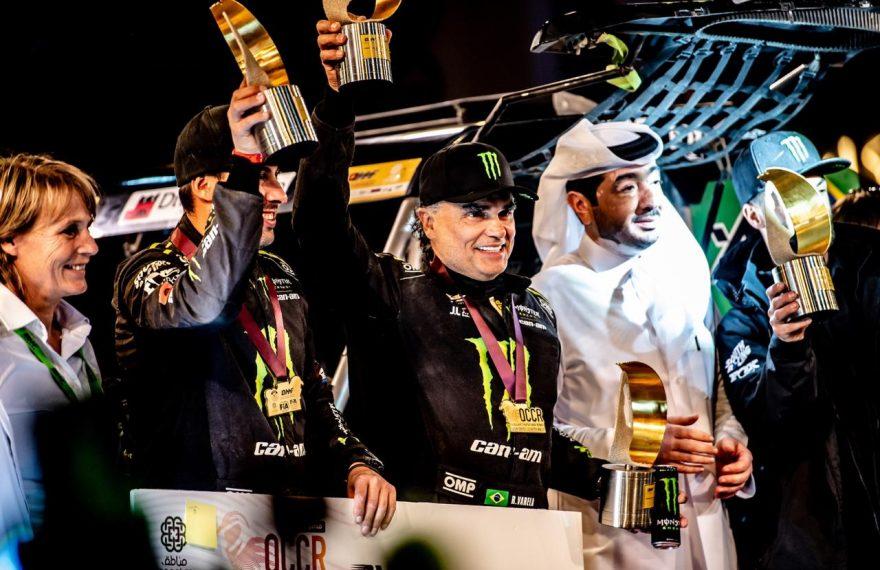 Reinaldo Varela e Gustavo Gugelmin saíram vitoriosos no rali do Catar, em fevereiro