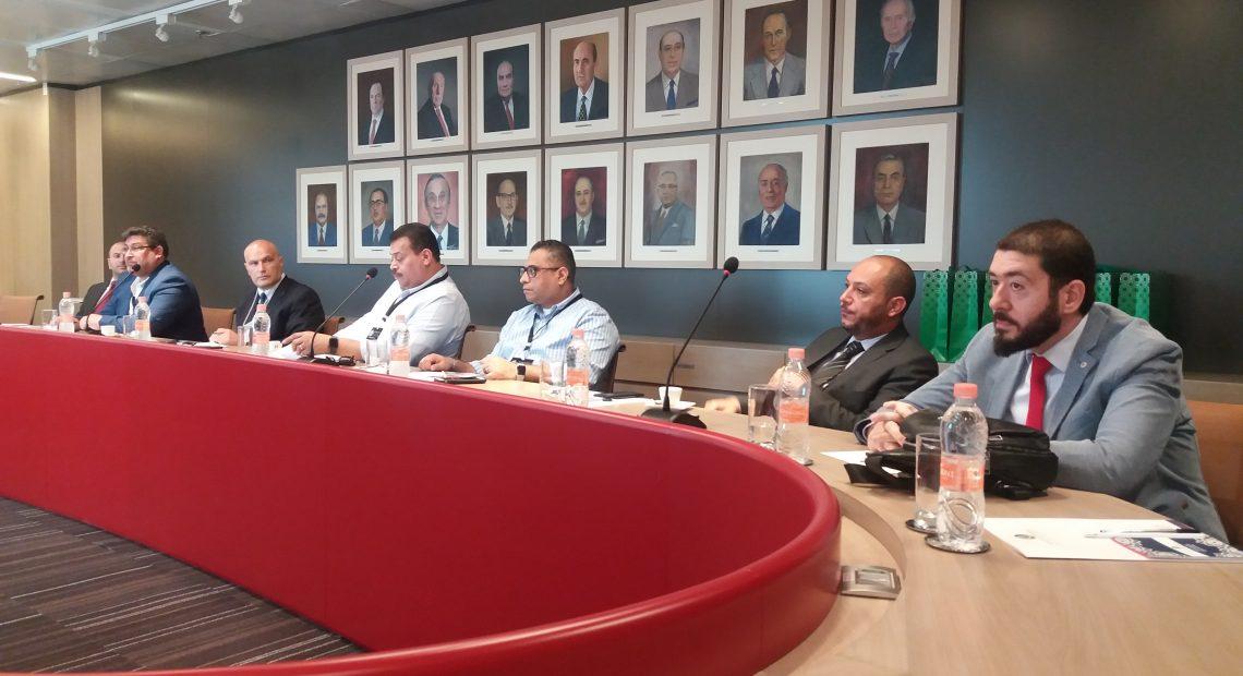 Empresários que participam da Anufood visitaram a Câmara Árabe