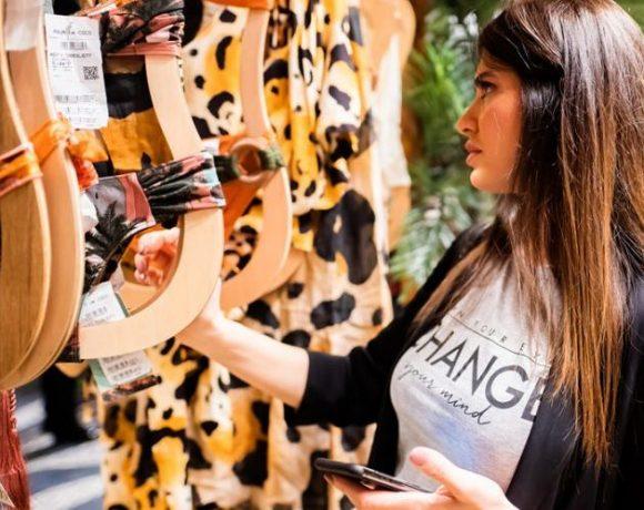 Ponto de venda de moda brasileira no Dubai Mall