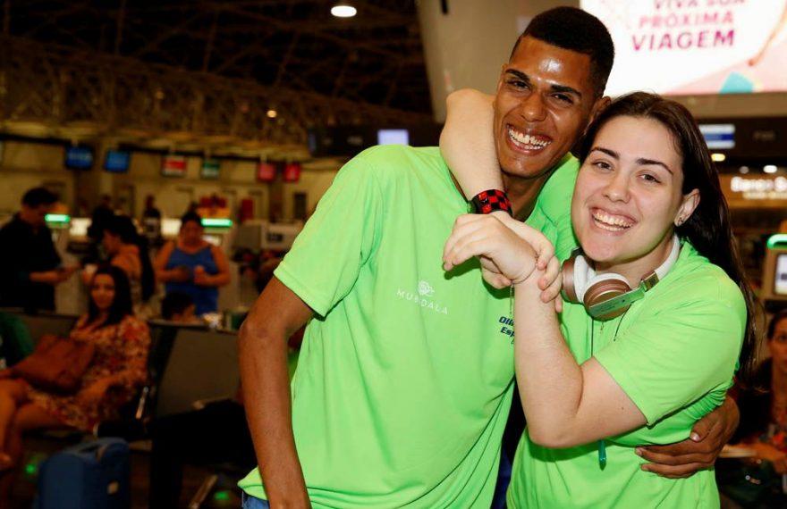 Brasileiros que vão participar das Olimpíadas Especiais