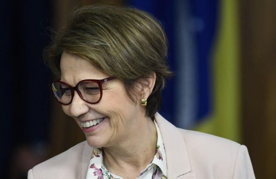 A ministra da Agricultura, Tereza Cristina