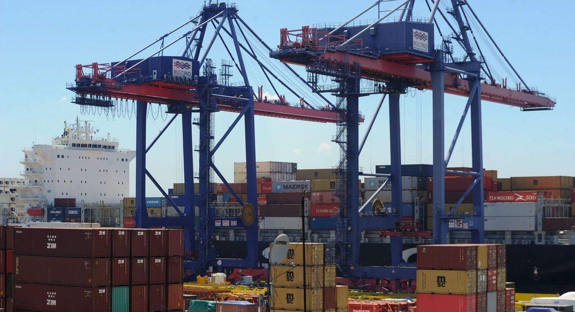 Saldo comercial do Brasil caiu