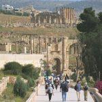 Ruínas romanas de Jerash, na Jordânia