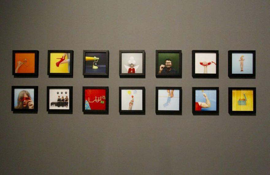 Fotos da exposição Taswir