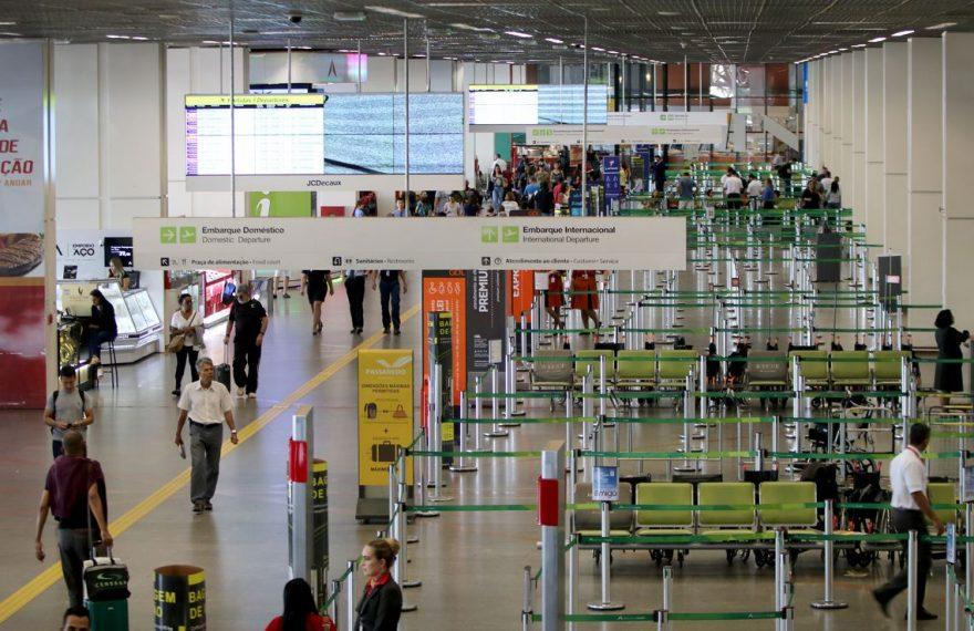 Oferta de voos internacionais também cresceu