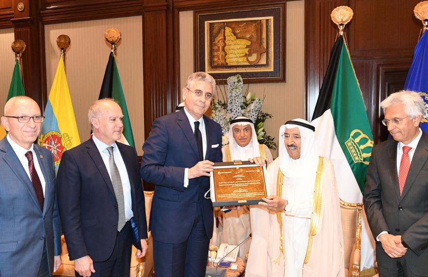 Emir do Kuwait recebeu certificado de vice-presidente do Banco Mundial