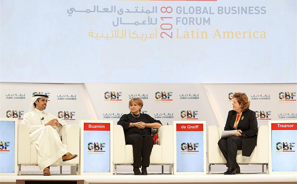 Edição do ano passado do Global Business Forum, promovido pela Câmara de Dubai