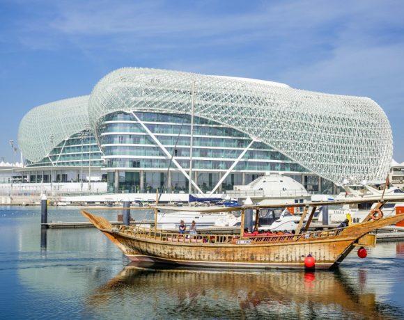 O hotel Yas Viceroy, em Abu Dhabi