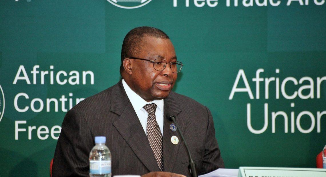Albert Muchanga, comissário de Indústria e Comércio da União Africana