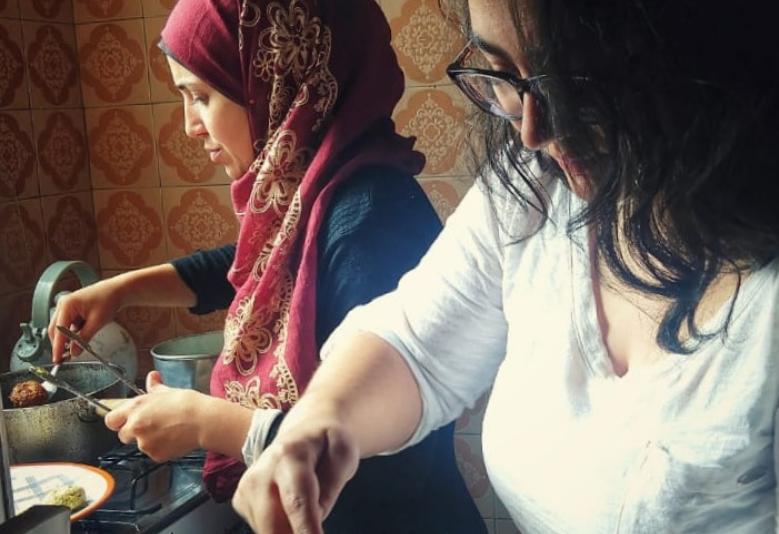 Chefs refugiadas participam do programa Open Taste