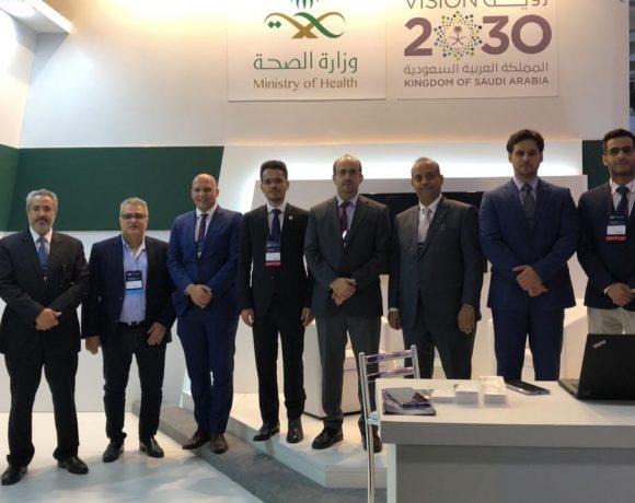 Delegação saudita na Hospitalar