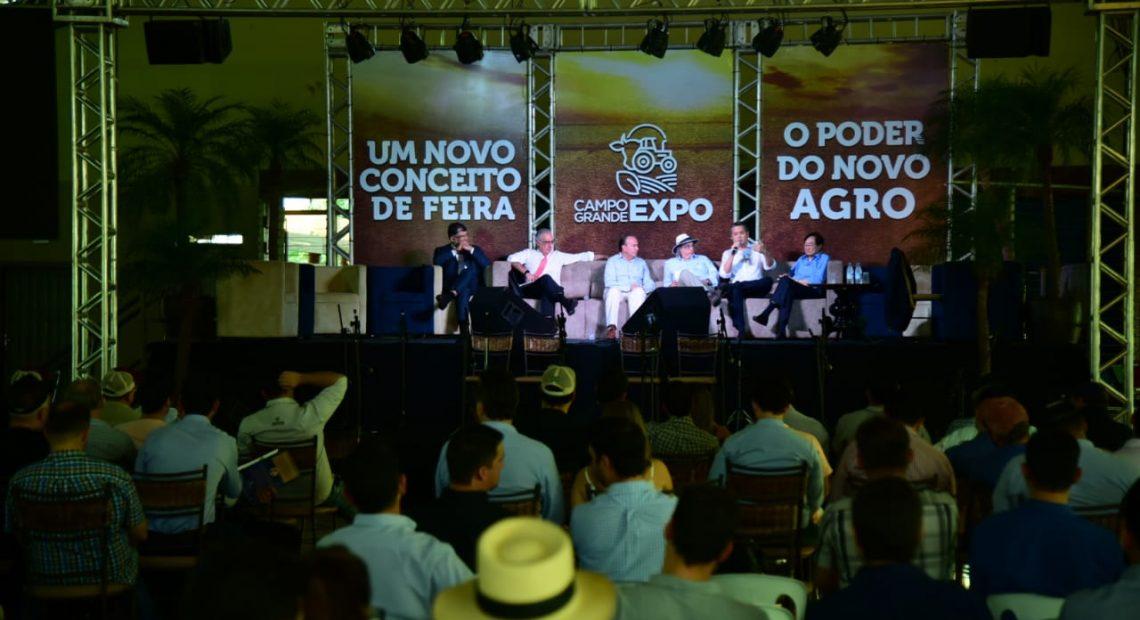 Debate sobre o crescimento do agronegócio em cinco anos
