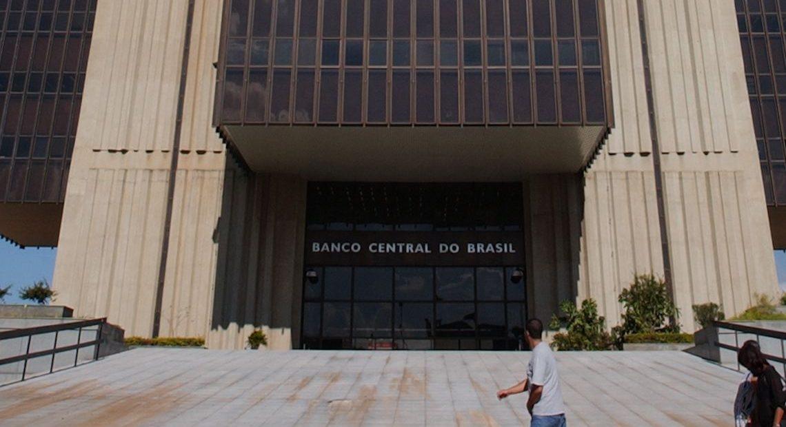 Prédio do BC em Brasília: PIB pode ter recuado no primeiro trimestre