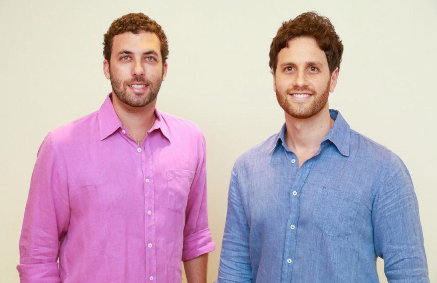 Michel Lassner (esq.) e Alexandre Reitzfeld, da Shorts Co.