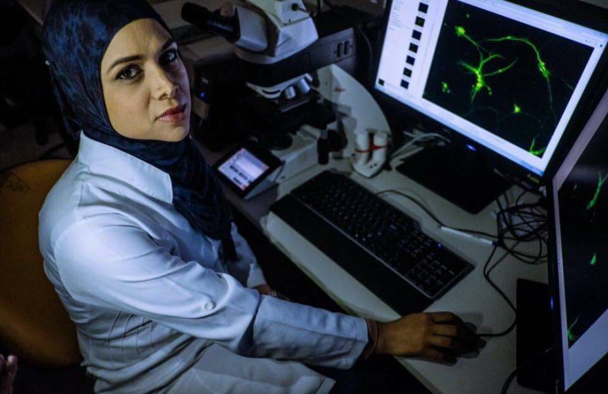 Soha é uma das mulheres muçulmanas entrevistadas pela reportagem da ANBA