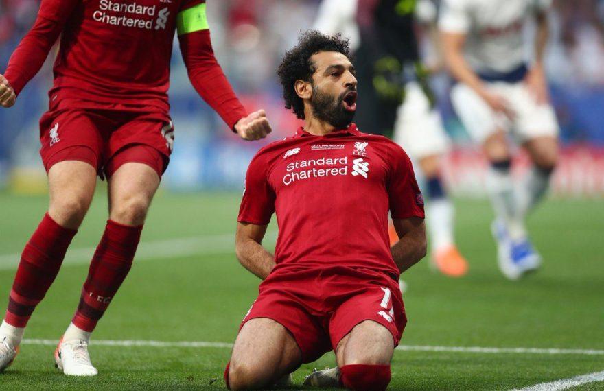 Mohamed Salah em ação