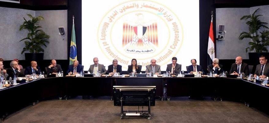 Câmara Árabe e delegação com ministra e outras autoridades do Egito