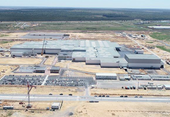 Fábrica do gupo PSA no Marrocos