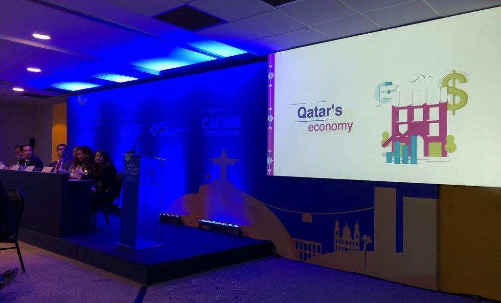 Apresentação  da Qatar Chamber no Congresso Mundial de Câmaras