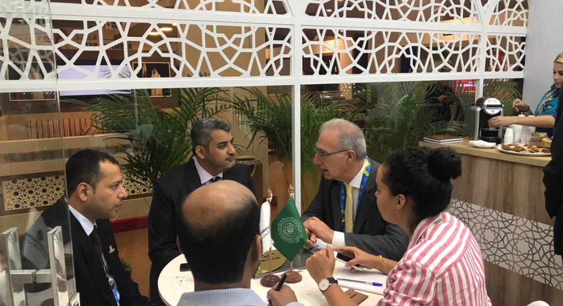 Rubens Hannun se reuniu com representantes de outras Câmaras no Congresso Mundial de Câmaras