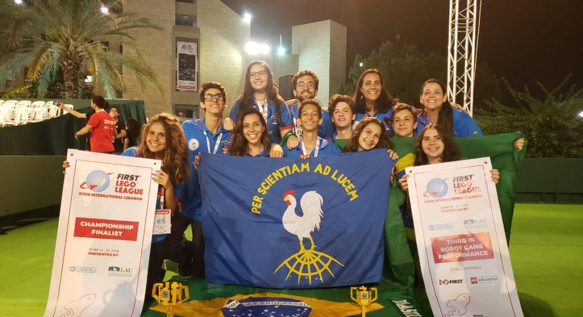 Brazilians finish 2nd in Lebanon robotics contest - ANBA News Agency