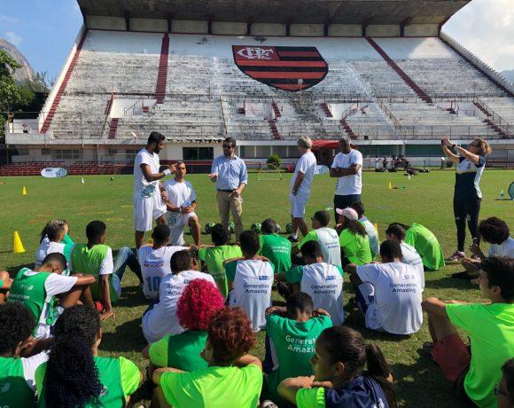 ONU e Catar fizeram evento esportivo no Rio