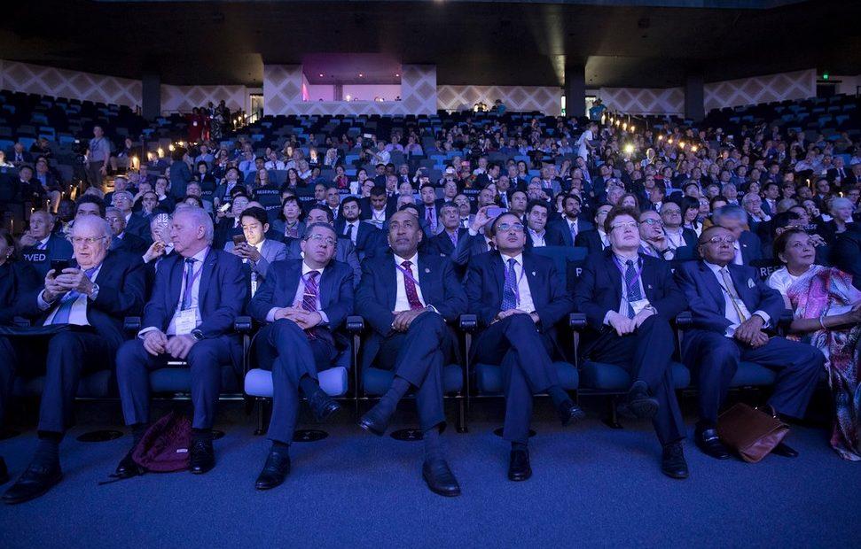Última edição do Congresso Mundial de Câmaras, em 2017