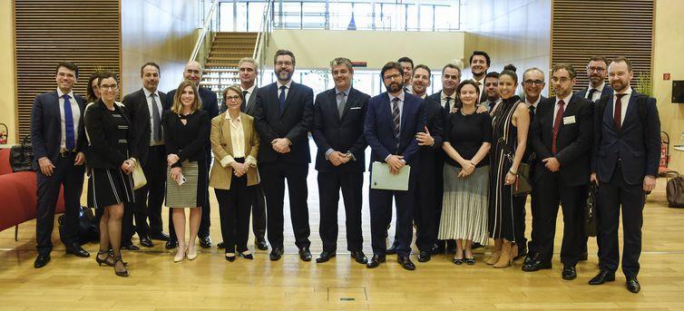 Delegação brasileira que assinou acordo Mercosul e UE