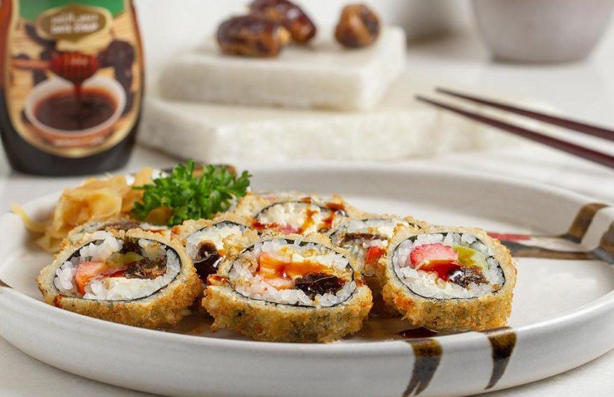 Sushi de tâmara