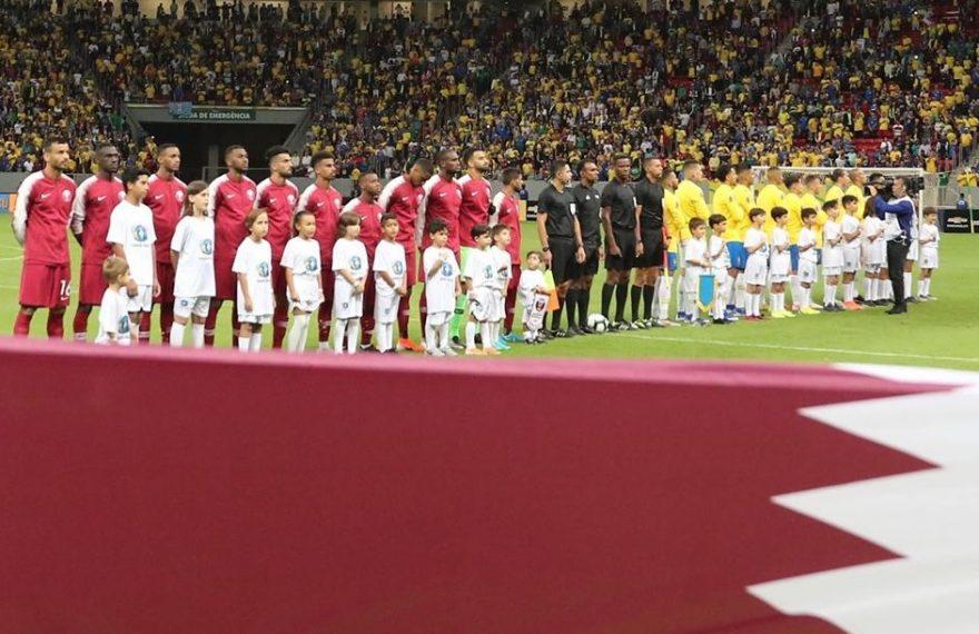 Catar jogou amistoso contra o Brasil antes da Copa América