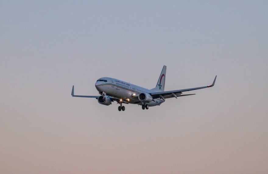 Avião da Royal Air Maroc, companhia aérea do Marrocos