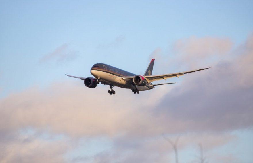 Boeing 787-8 Dreamliner da Royal Jordanian