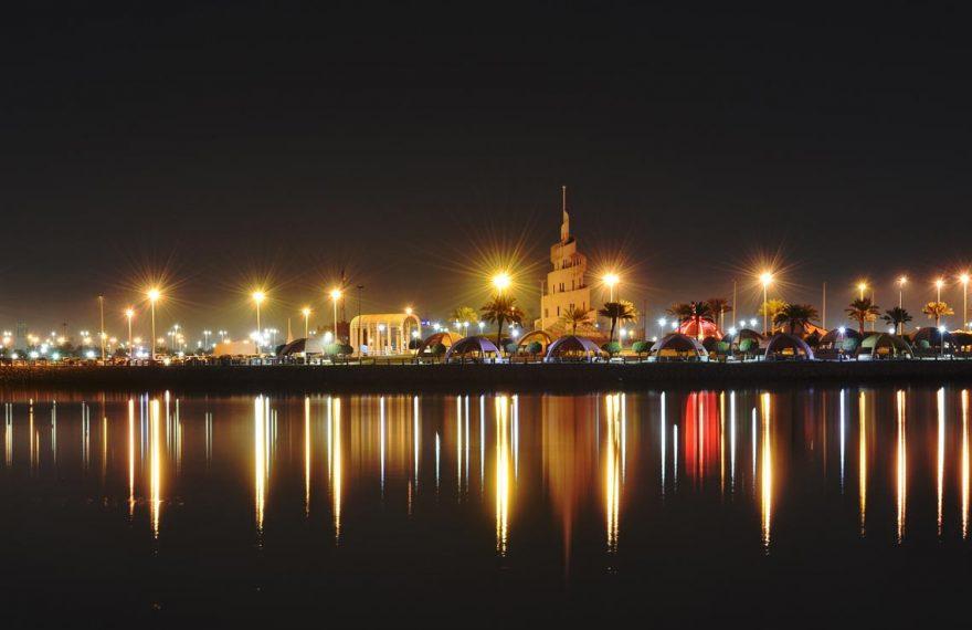 Vista de Dammam, na Arábia Saudita