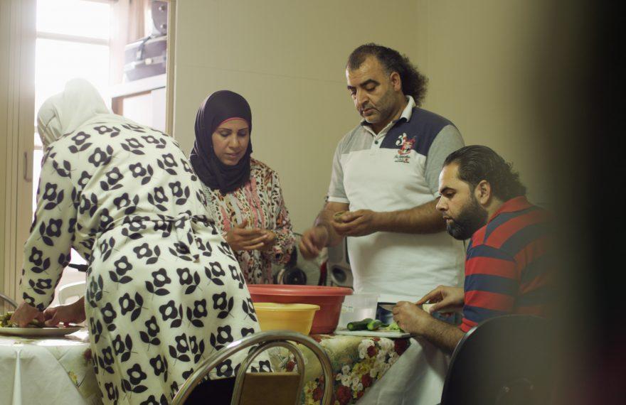 Refugiados na Ocupação Leila Khaled
