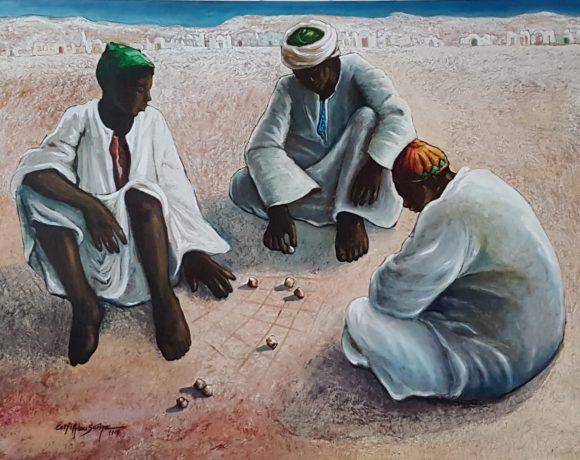 Pintura de Lotfy Abu Sareya fará parte do Festival Cultural do Egito