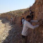 Pesquisa arqueológico na Jordânia