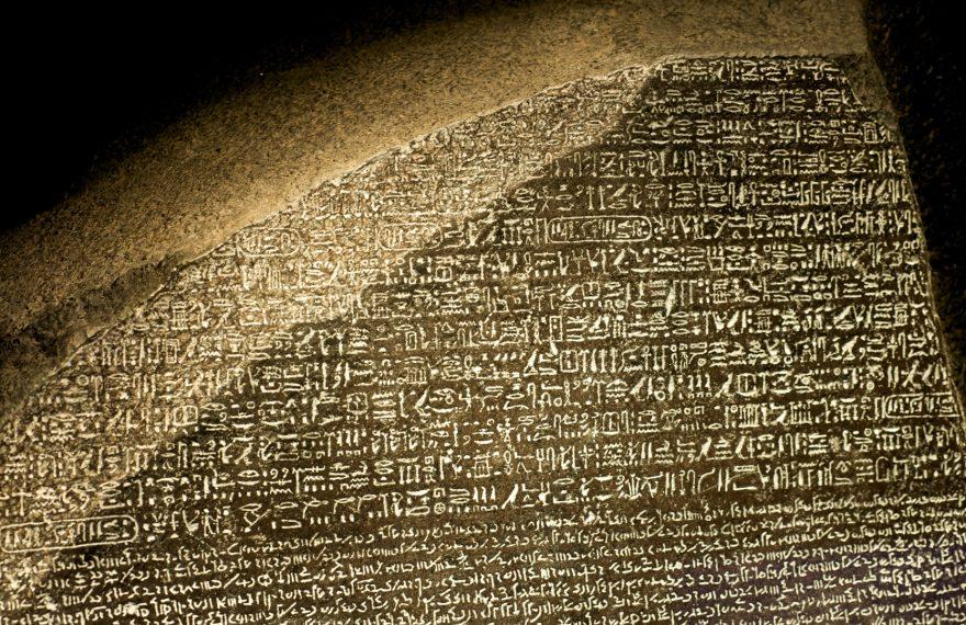 Pedra de Rosetta e Napoleão no Egito são temas de curso