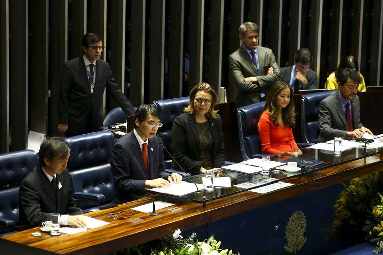 Embaixador do Japão discursa no Senado