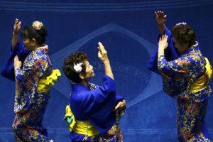 Dança típica do Japão