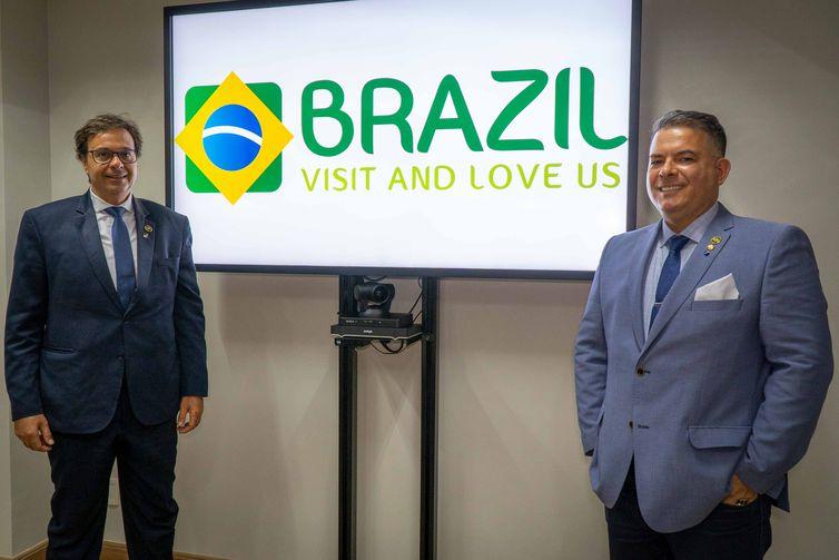 Gilson Machado Neto, presidente da Embratur, e