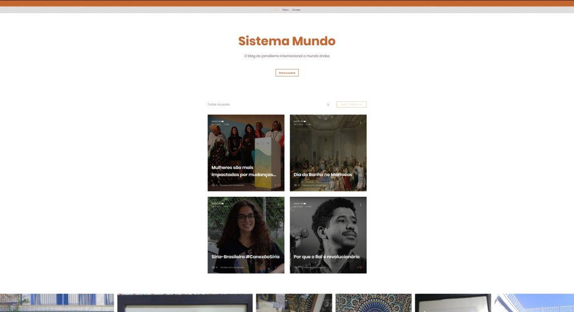Reprodução do Blog Sistema Mundo, da jornalista Letícia Sé