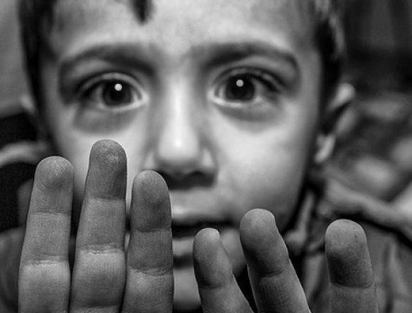 Foto do livro 'Infância Refugiada - Retratos de um Conflito', que será lançado no Ceará