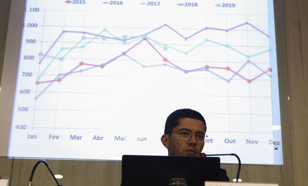 O subsecretário de Inteligência e Estatísticas de Comércio Exterior do Ministério da Economia, Herlon Brandão, fala sobre a balança comercial