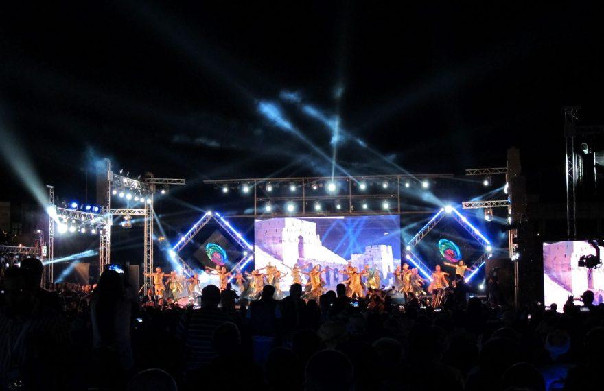 Show de abertura da Feira de Damasco