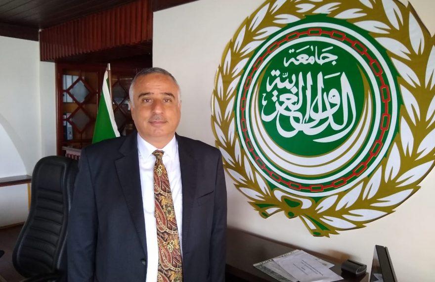 O embaixador da Liga Árabe